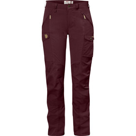 Fjällräven Nikka Curved Trousers Women dark garnet